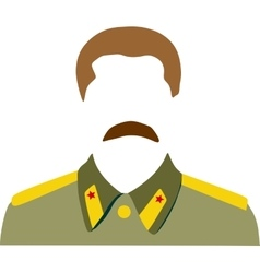 Portrait of joseph stalin vector