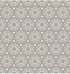 Aztec seamless background vector