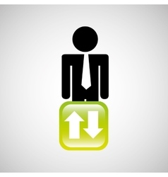 Businessman people business vector