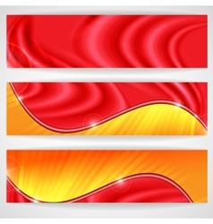 Abstract Colorful Banner Eps 10 vector image vector image