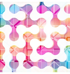 Abstract geometric background for design vector image vector image