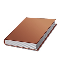 Book closed vector
