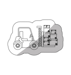 Delivery and logistic vector image vector image