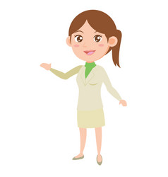 Character business women style vector
