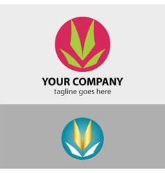 Ecology icon - green design - growth sign vector