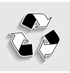 Recycle logo concept vector