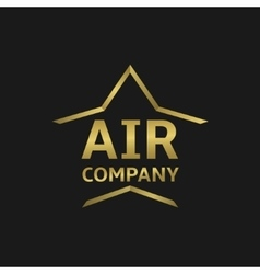 Air logo vector image