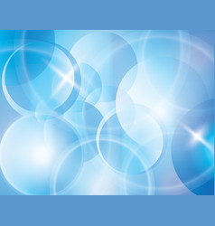 Blue blur abstract background vector