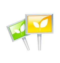 icon picket vector image vector image