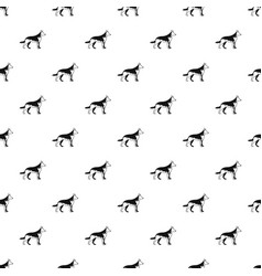 Shepherd dog pattern vector