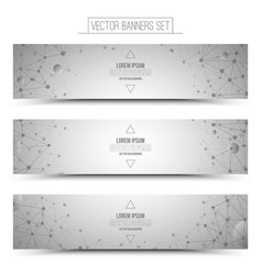 Technology Web Banners vector image vector image