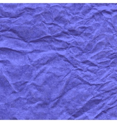 Background of crumpled paper in violet color vector