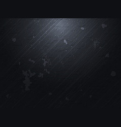 dark concrete background vector image