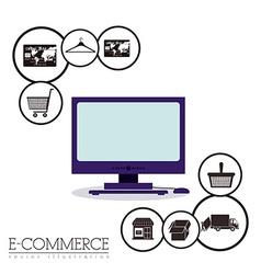 E-commerce design vector