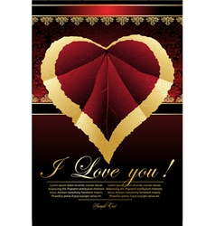 Background for valentine card vector