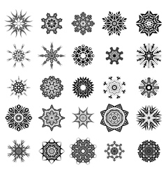 Rosettes tattoo design vector