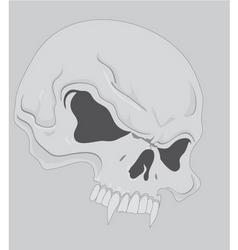 Side skull vector
