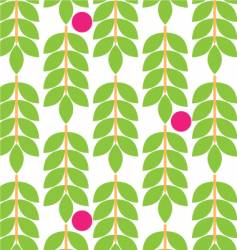 Floral fruit pattern vector