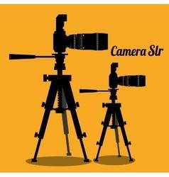 Camera equipment design vector image