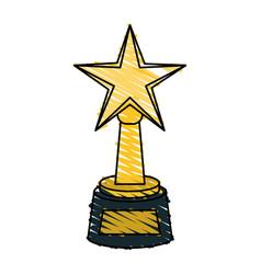 award icon image vector image