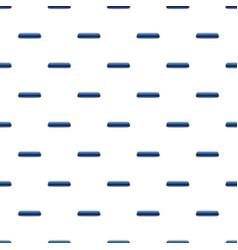 Blue rectangular button pattern vector