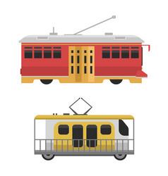 city transport public industry flat vector image