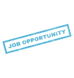 Job opportunity rubber stamp vector