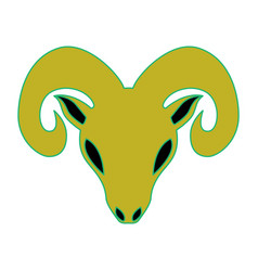 Sheep as aries vector