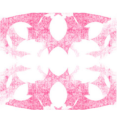 watercolor pink abstract pattern vector image