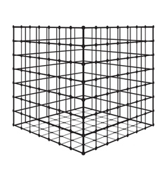 Abstract square with grid eps 10 vector