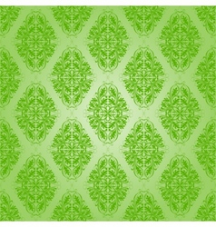 Seamless with lace floral pattern vector image