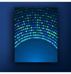 Technology color background Molecules atoms and vector image