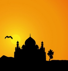 Arabian nights vector image