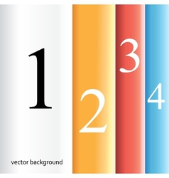 Infographics are modern versions of banners vector image