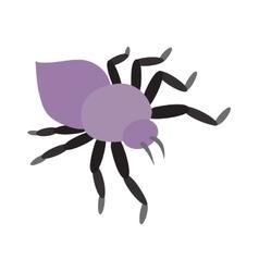 Mite skin parasite vector