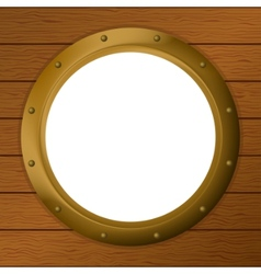 window porthole vector image
