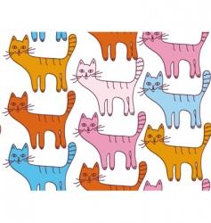 cartoon cats vector image