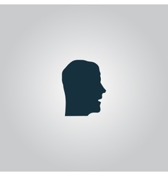 Face icon vector