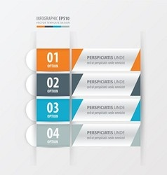 Banner and label design orange blue gray color vector