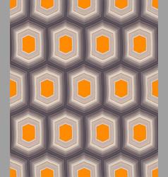 Hexagon pattern vector