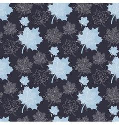 Seamless Autumn pattern vector image vector image