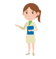 Character of business women vector