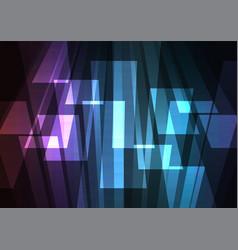 dark rainbow multicolor big bar reverse abstract vector image vector image