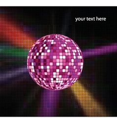 Discoball with ray vector