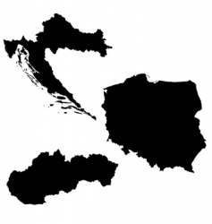 eastern europe vector image