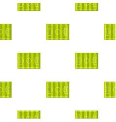 Football or soccer field pattern seamless vector