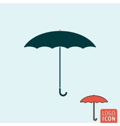 Umbrella icon isolated vector image vector image