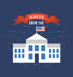 White house usa related image vector