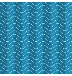 wave abstract pattern vector image