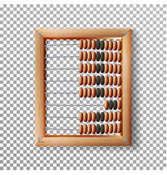 abacus set classic wooden old abacus vector image